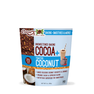 CocoaX Toasted Coconut